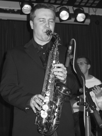 Jukka Perko playing alto saxophone